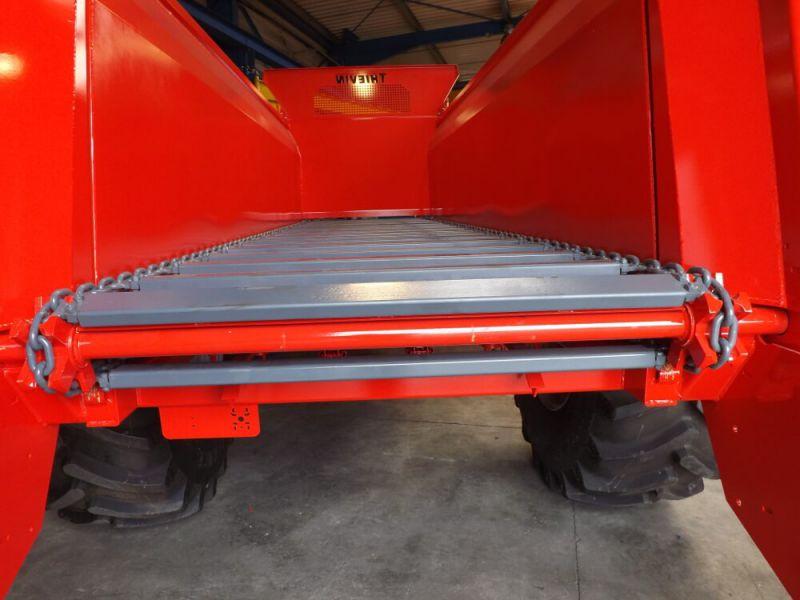 Arbres d'entrainement de tapis arrière et avant Ø60 mm en acier traité
