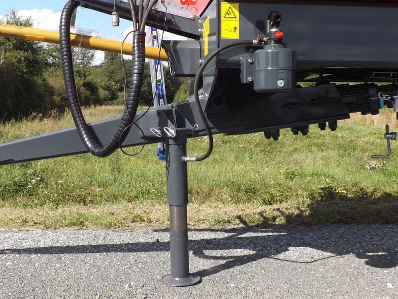 Béquille hydraulique avec pompe à levier