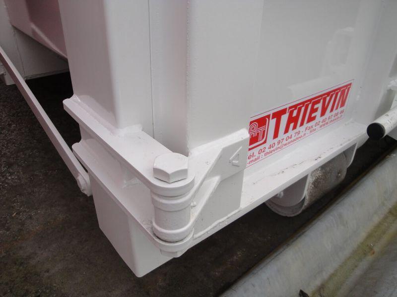 Charnière de porte moulée  avec graisseur Ø 20 mm