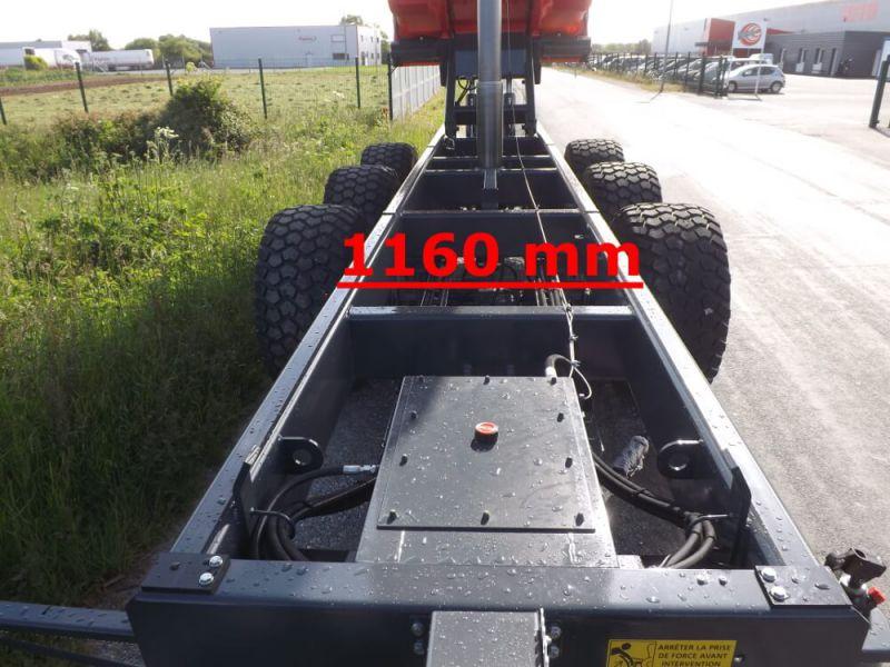 Châssis large de 1 160 mm extérieur tubes