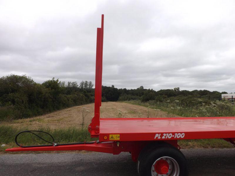 Échelon avant fixe vertical et inclinable largeur 1 900 mm