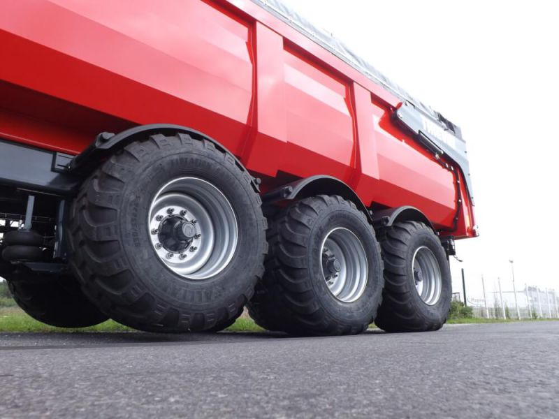 Essieu avant releveur en suspension pneumatique ou hydraulique