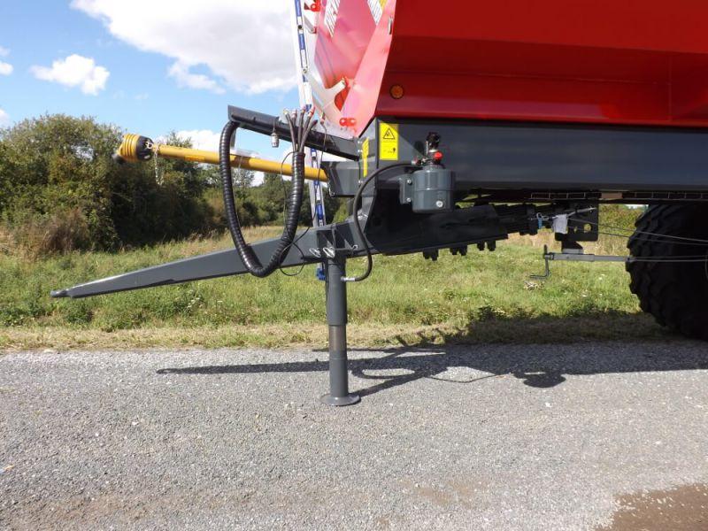 Flèche réglable à suspension ressorts