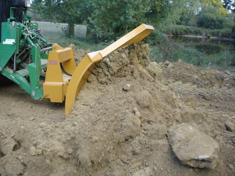 Lame De Terrassement Pour Tracteur Agricole