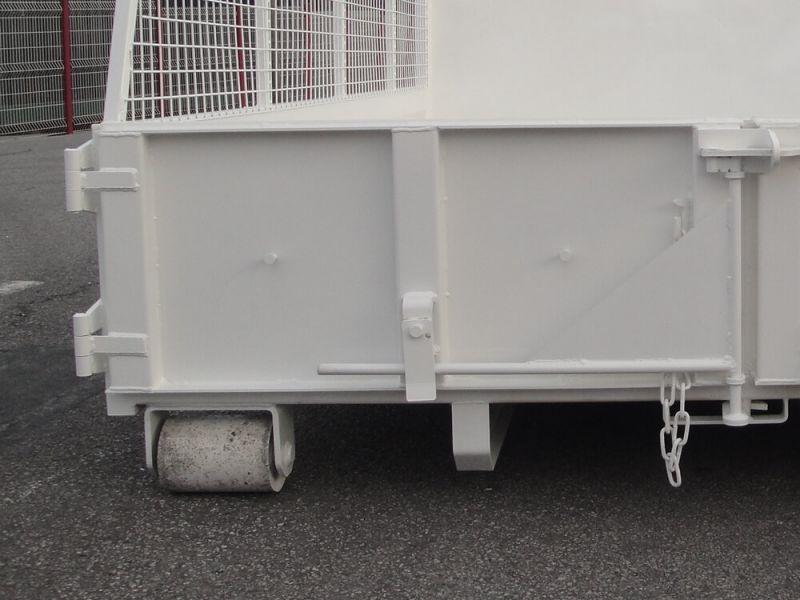 Rouleaux arrières renforcés Ø 140 mm avec bagues autolubrifiantes