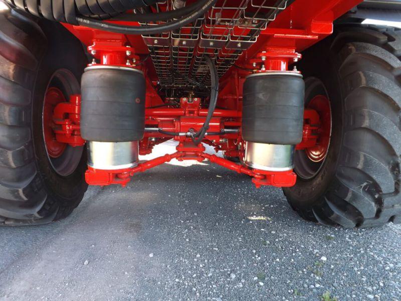 Suspension pneumatique des essieux sur COBALT