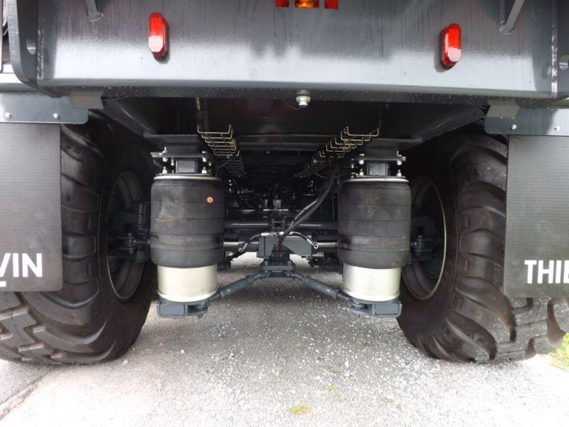 Suspension pneumatique des essieux