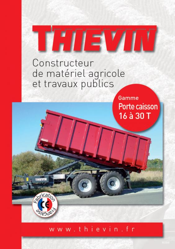 THIEVIN - Plaquette PORTE-CAISSON
