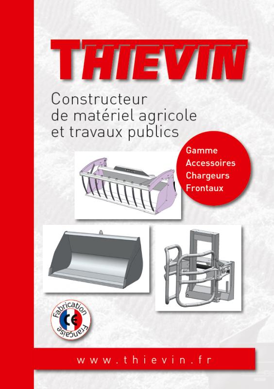 THIEVIN - Plaquette accessoires chargeurs frontaux