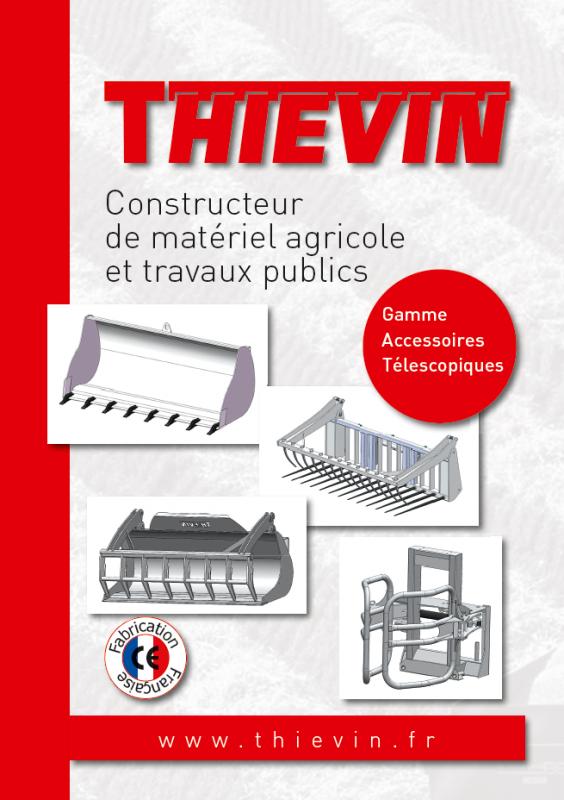 THIEVIN - Plaquette accessoires télescopiques