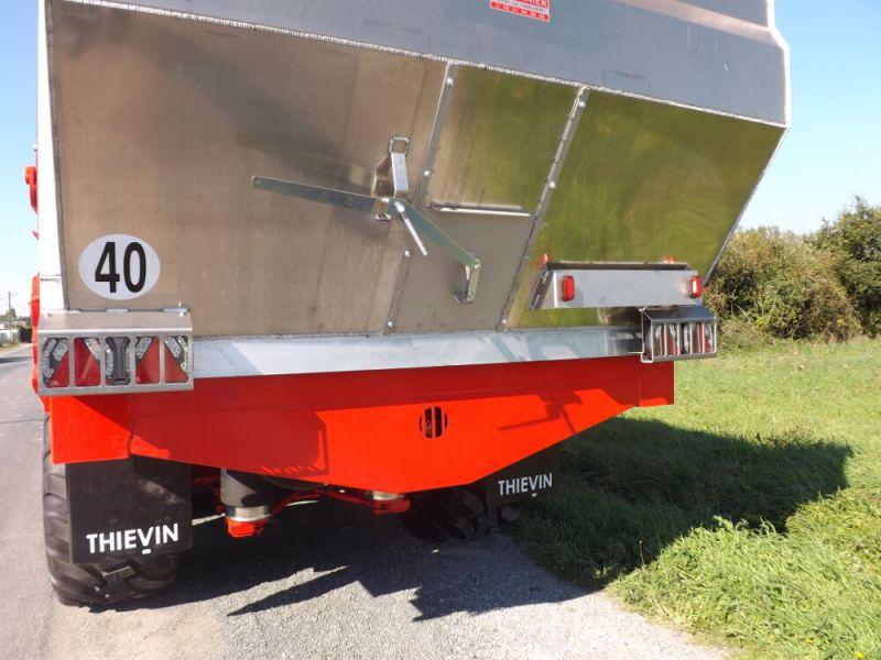 Trappe arrière Inox 400 x 400 mm