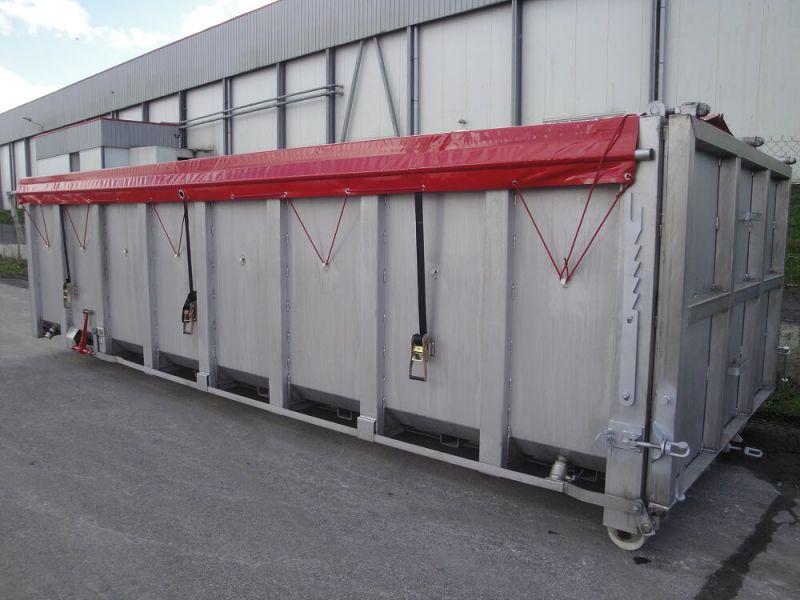 Caisson Inox 20 m³