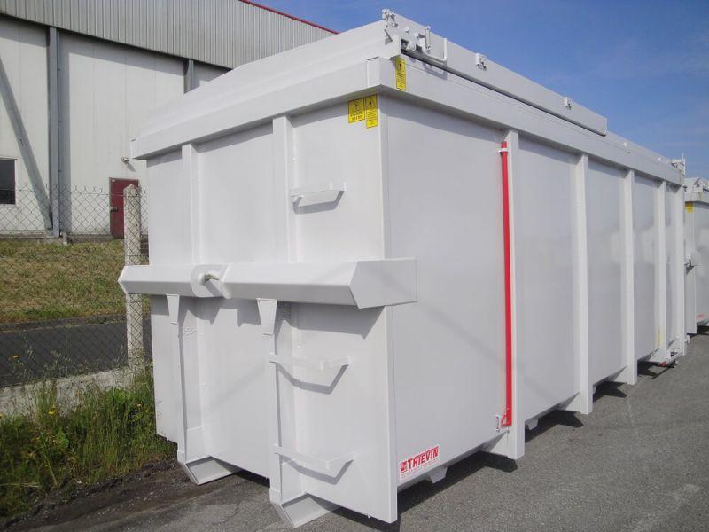 Caisson amovible standard toit-coulissant 30 m³