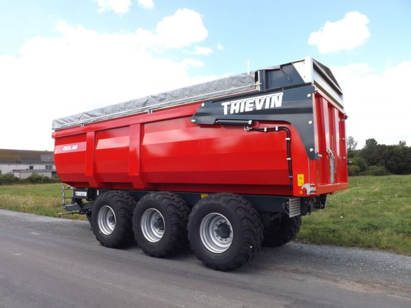 Thievin remorque agricole cortal 240 - Remorque porte outil agricole ...