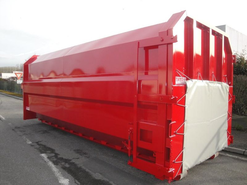 Caisson 30 m³ à compaction